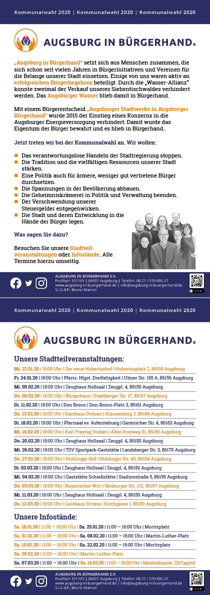 veranstaltungen augsburg 2020