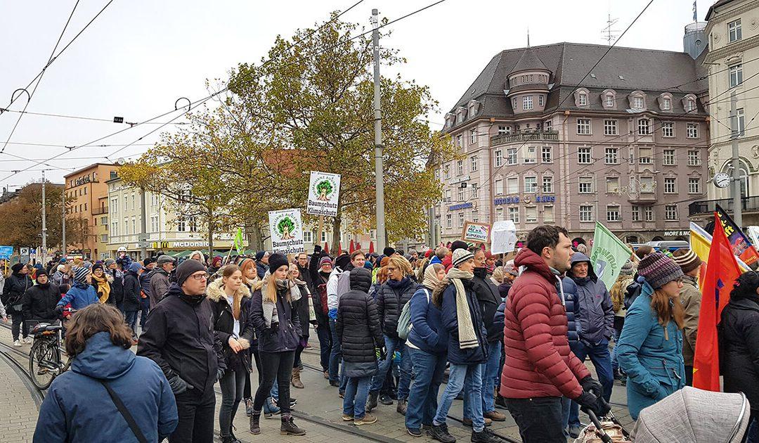 Demo: Klimanotstand – Jetzt sofort handeln!