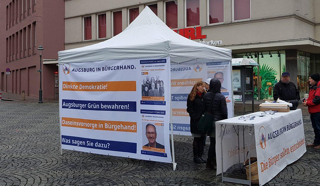 Kommunalwahl: Infostand
