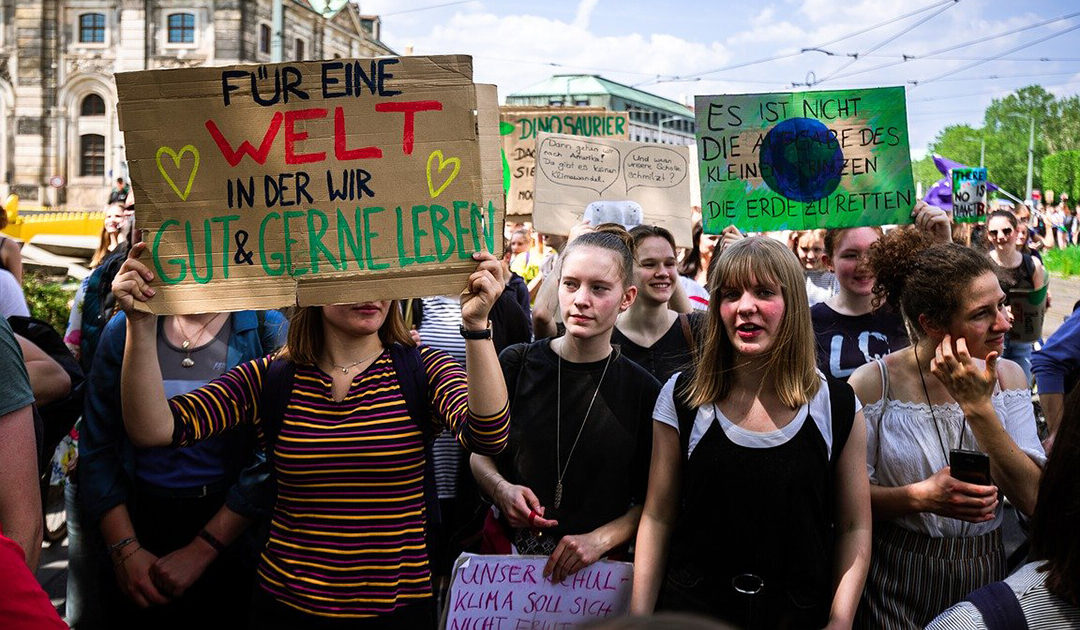 Solidarisch mit Klimacamp
